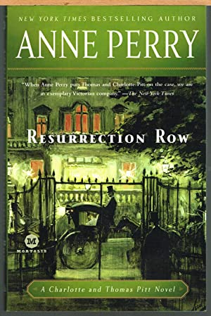 Resurrection Row; a Thomas and Charlotte Pitt: Perry, Anne. Cutler,