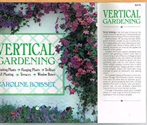 VERTICAL GARDENING, Climbing Plants, Hanging Plants, Trellises, Wall Planting, Terraces, Window B...