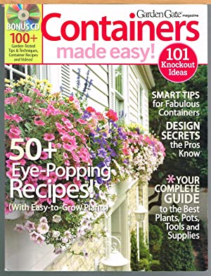 GARDEN GATE MAGAZINE: CONTAINERS MADE EASY!, Vol. 1, CD