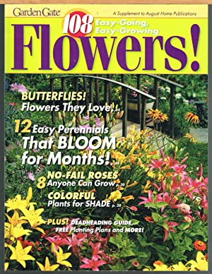 GARDEN GATE: 108 EASY-GOING, EASY-GROWING FLOWERS, Spring,