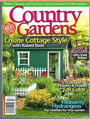 COUNTRY GARDENS, FALL 2010, Vol 19, No. 4, Better homes and Gardens Special Interest Publication