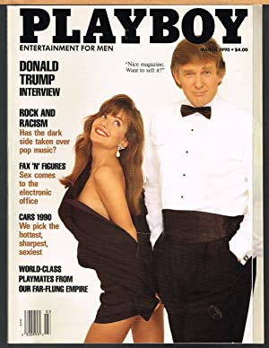 PLAYBOY; Entertainment for Men; March 1990; Donald Trump Interview
