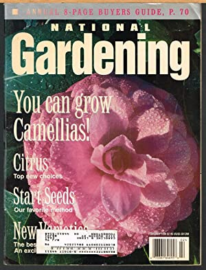 NATIONAL GARDENING, January/February 1996, Vol. 19, No. 1.