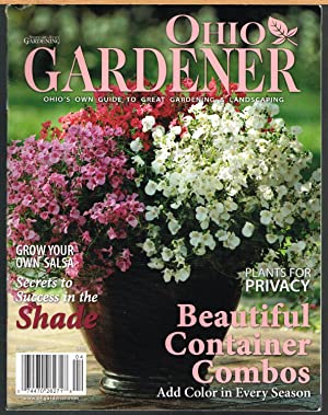 OHIO GARDENER, March/April 2011, Vol. I, No. 2, Ohio's Own Guide to Great Gardening & Landscaping. .