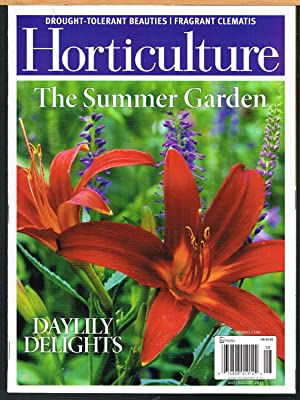 HORTICULTURE; the Art & Science of Smart Gardening, July/August 2011, Vol. 108, No 5.