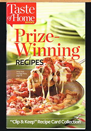 TASTE OF HOME PRIZE-WINNING RECIPES; Clip & Keep Recipe Card Collection