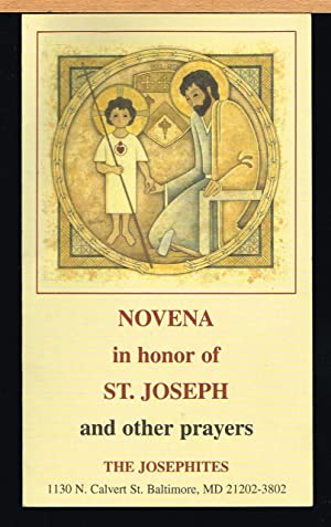 NOVENA IN HONOR OF ST. JOSEPH AND OTHER PRAYERS