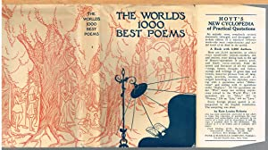 WORLD'S ONE THOUSAND BEST POEMS, Volume One: BRALEY, BERTON, Editor-In-Chief.