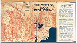 WORLD'S ONE THOUSAND BEST POEMS, Volume Two: BRALEY, BERTON, Editor-In-Chief.