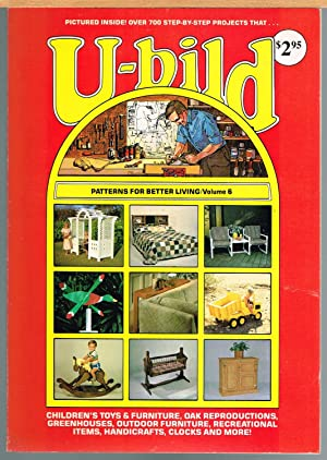 U-BILD; PATTERNS FOR BETTER LIVING, VOL. 6, Children's Toys & Furniture, Oak Reproductions, Green...
