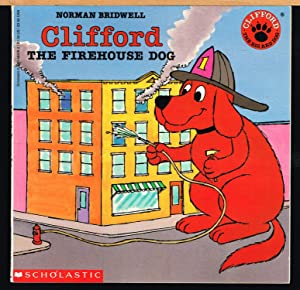 CLIFFORD THE FIREHOUSE DOG.