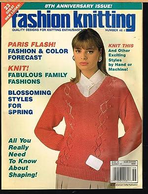Fashion Knitting, Volume 46 Number 1, January: Klein, Sally V.,