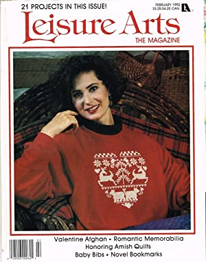 LEISURE ARTS THE MAGAZINE, FEBRUARY 1992, VOLUME 6, NUMBER 2, Country Cats, Part 2 of 3, Maggie.