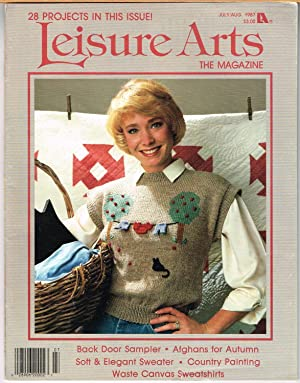 LEISURE ARTS THE MAGAZINE, JULY/AUGUST 1987, VOLUME 1, NUMBER 5, Somebunnies, Part 1 of 3, Mr. & ...