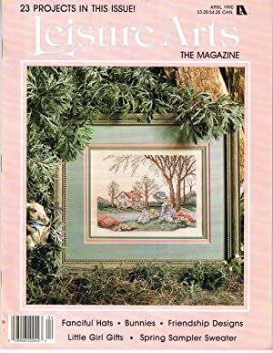 LEISURE ARTS THE MAGAZINE, APRIL 1990, VOLUME 4 NUMBER 3, Herbal Remedies, Part 2 of 2, Chamomile...