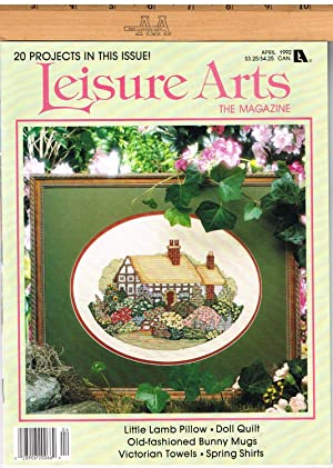 LEISURE ARTS THE MAGAZINE, APRIL 1992, VOLUME 6, NUMBER3, Country Cats, Part 3 of 3, Benjamin