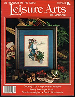 LEISURE ARTS THE MAGAZINE November 1991, Volume 6, Number 1, Country Cats, Part 1, Camille.