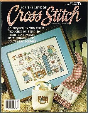 Cross Stitcher Magazine Many Lovely Cross Stitch Projects February 1995