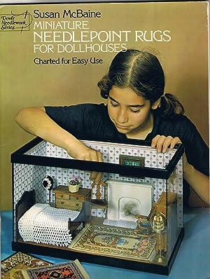 Miniature Needlepoint rugs for Dollhouses or Doll: McBaine, Susan.