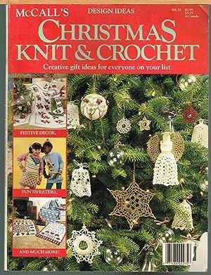McCall's Christmas Knit & Crochet, Design Ideas: Lawson, Annemarie, Editor.