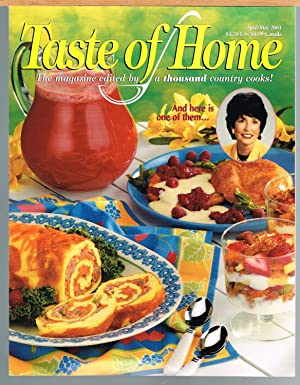 TASTE OF HOME, Vol. 9. No.2, April/May 2001, the Magazine Edited By a Thousand Country Cooks!