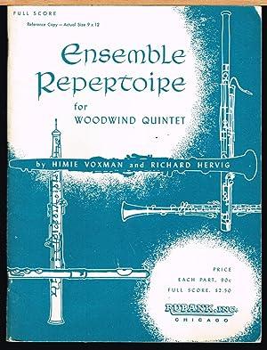 Ensemble Repertoire for Woodwind Quintet, Full Score,: Voxman, Himie. Hervig,