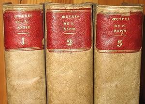 Oeuvres qui contiennent les comparaisons des grands: RAPIN René (1621-1687),