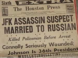 John F. Kennedy Assassin Suspect Married to: The Houston Press