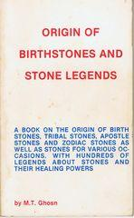 Origin of Birthstones and Stone Legends