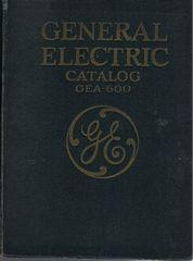 General Electric Catalog GEA-600