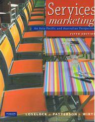 services marketing an asia-pacific and australian perspective 5th edition pdf
