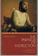 The Paradox of Instruction