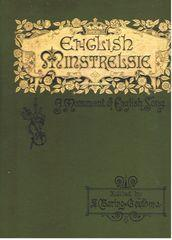 English Minstrelsie - A Monument of English Song Vol V