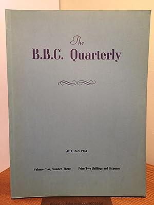 The B.B.C. Quarterly, vol. 9, no.3: Autumn,: Jacob, Ian, Demant,