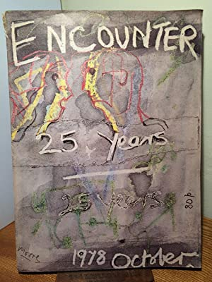 Encounter: 25th Anniversary Number (Cover by Henry Moore). October 1978, Vol. LI, No. 4.