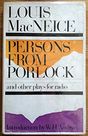 Persons from Porlock and Other Plays for Radio