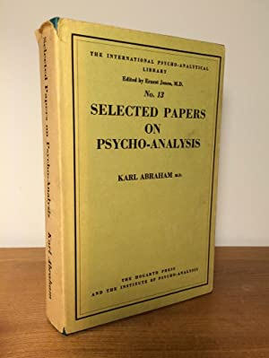 Selected Papers on Psycho-analysis