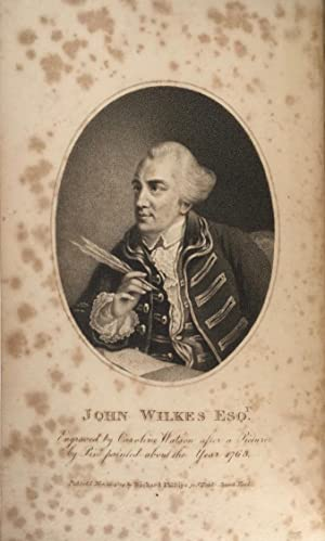 The Correspondence of the Late John Wilkes, with his Friends (4 volumes only) Printed from the or...
