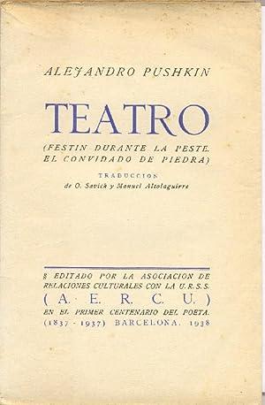 Teatro (El Convidado de piedra. Festin durante: ALTOLAGUIRRE, Manuel, translator.]