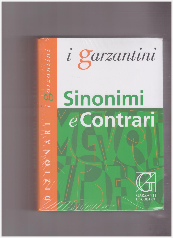Sinonimi e Contrari - Garzantini