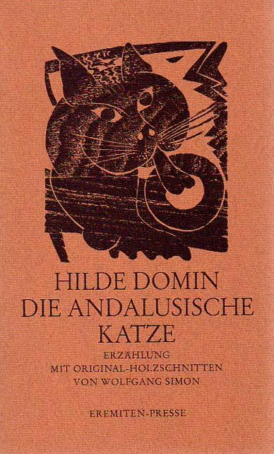 Die andalusische Katze. Erzählung. Mit Original-Holzschnitten von Wolfgang Simon.