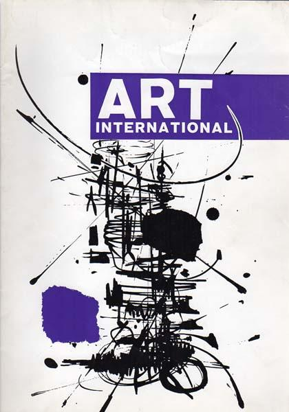 Art international. Volume III, 1/2 1959 - Volume 10 / 1966.: Fitzsimmons, James (Editor):