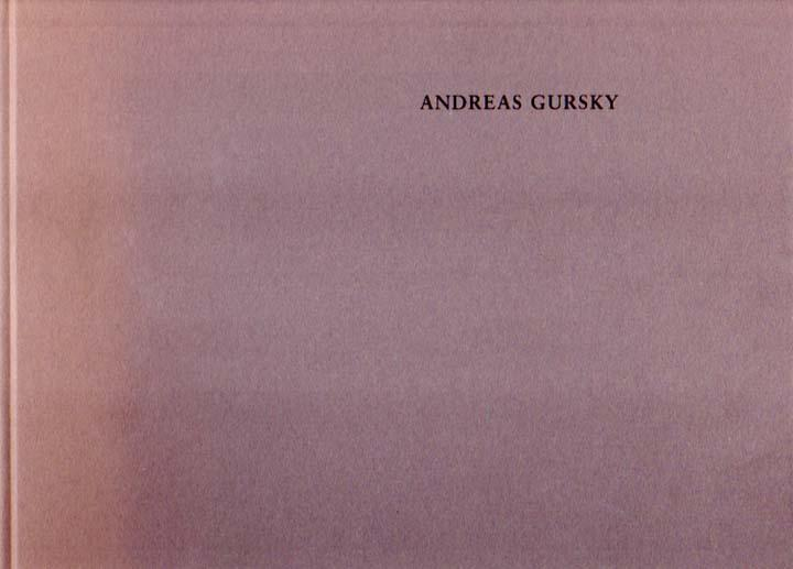 Kunsthalle Zürich, 28.3. - 24.5.1992.: Gursky, Andreas: