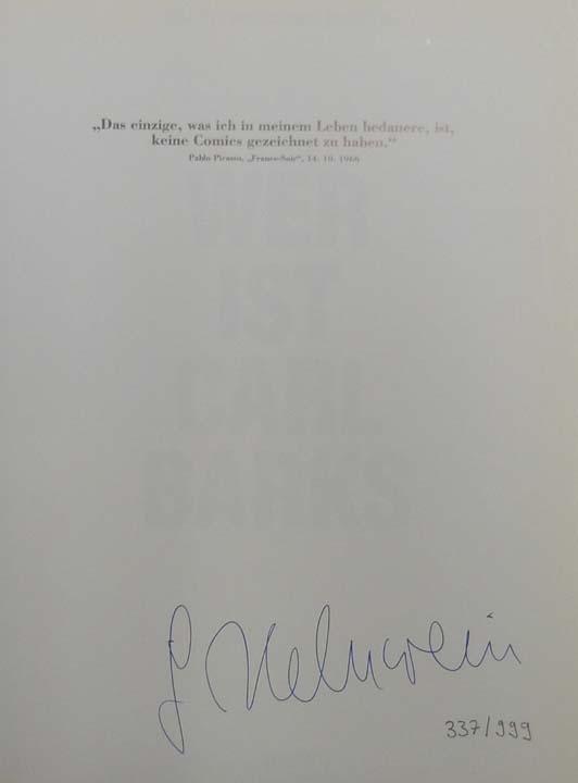 Wer ist Carl Barks.: Helnwein, Gottfried: