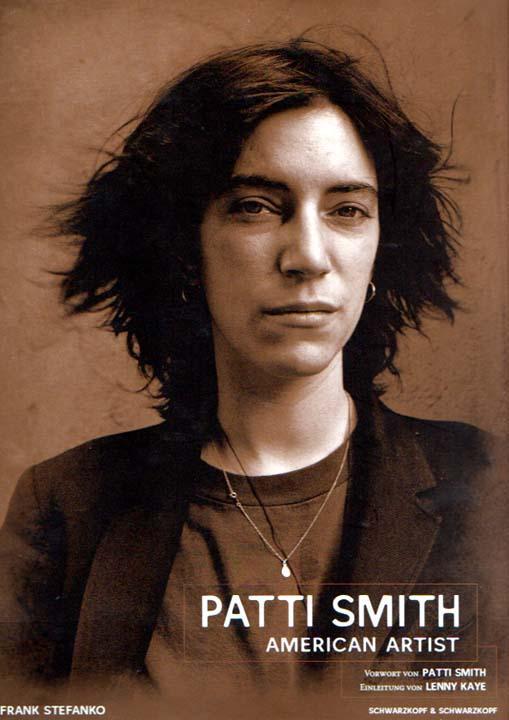 Patti Smith American Artist: Fotografien