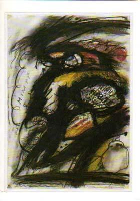 Arnulf Rainer. [Einladung / Invitation Card] Galerie: Rainer, Arnulf: