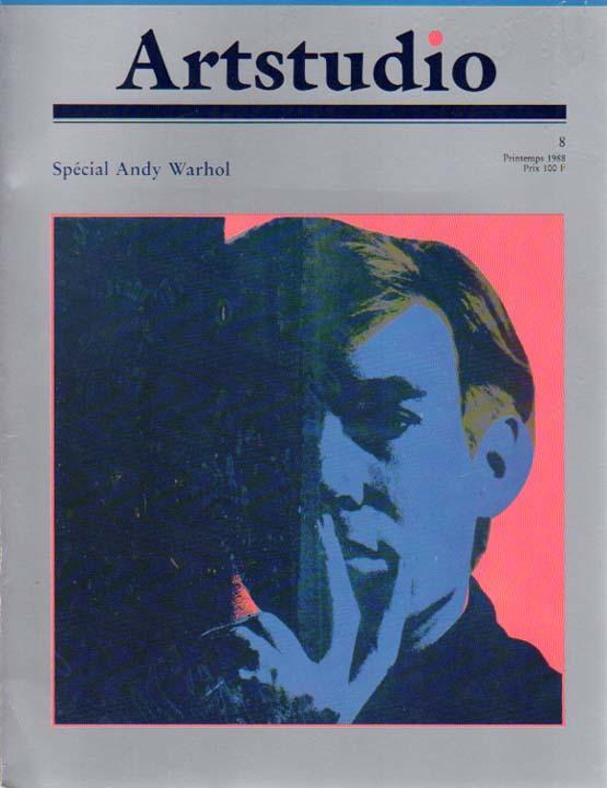 artstudio 8 special andy warhol printemps 1988