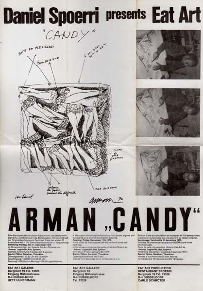 Candy Daniel Spoerri Presents Eat Art Arman