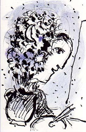 Jorge Camacho-Galerie Maeght-1982 Lithograph