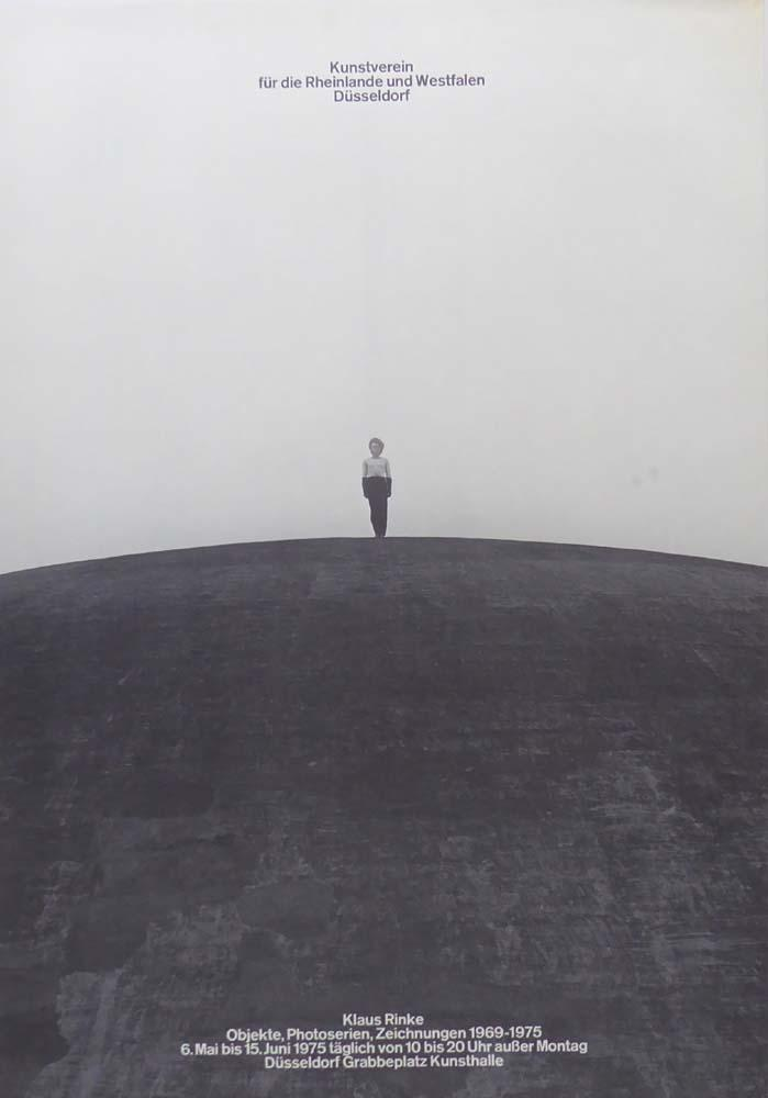 Objekte, Photoserien, Zeichnungen 1969-1975. [Plakat / Poster]: Rinke, Klaus: